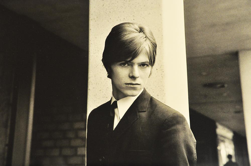 """Bowie 1966 als 19-jähriger in London © """"David Bowie"""" Martin-Gropius-Bau Berlin 2014"""