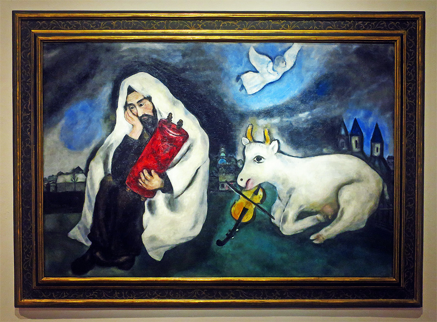 "Marc Chagall, ""Solitude"", 1933, Gift of the artist 1953, Tel Aviv Museum of Modern Art"