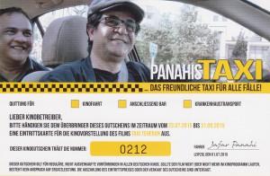 """Gewinnspiel für 4 Frei-Tickets für den Film """"Taxi Teheran"""", credit: Weltkino Filmverleih"""