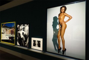 "rechts Natalia Vodianova, Bristish Vogue, London 2009, ""In Your Face"" © Mario Testino"