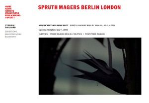 credit: Galerie Sprüth Magers Berlin
