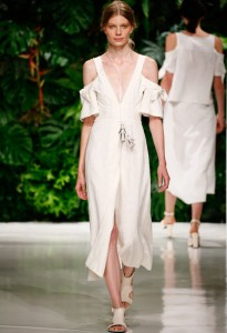 Dorothee Schumacher, credit: Mercedes-Benz Fashion