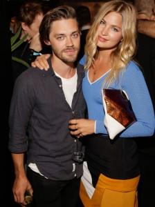 Vogue Fashion Night, Tom Payne und Freundin Jennifer Akermann, credit: Mercedes-Benz Fashion