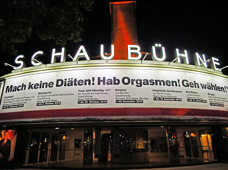 Schaubühne Berlin 2015 © Holger Jacobs