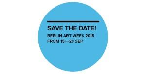 Berlin Art Week 2015