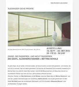 Galerie Alexander Ochs Private