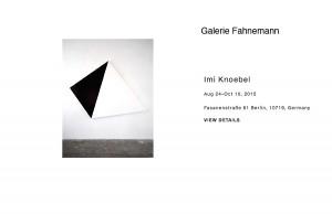© Galerie Fahnemann