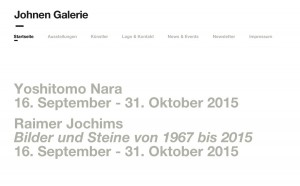 © Galerie Johnen