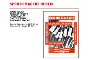 © Galerie Sprüth Magers Berlin