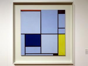 """Tableau 1"", 1921, Piet Mondrian, Sammlung Gemeentemuseum Den Haag"
