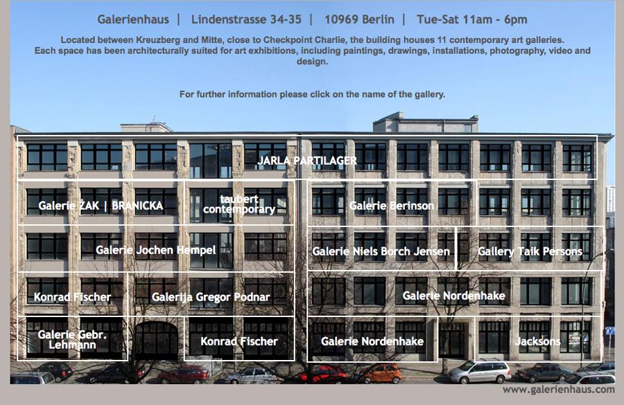 Galerie Im Haus : Galerie-Haus-Lindenstrasse - Kultur24 Berlin