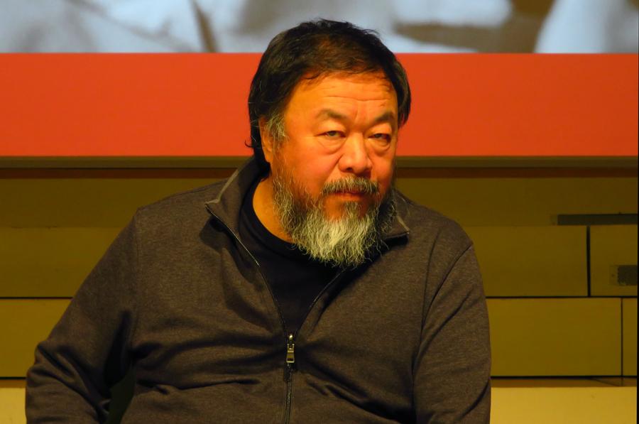 Ai Weiwei in der Universität der Künste Berlin © Holger Jacobs