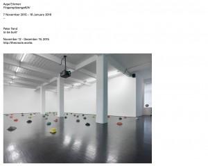 Galerie Barbara Weiss November 2015