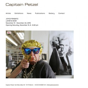 Galerie Capitain Petzel November 2015