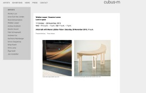 Galerie Cubus-m November 2015
