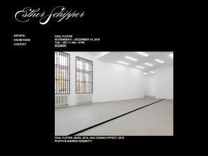 Galerie Esther Schipper November 2015