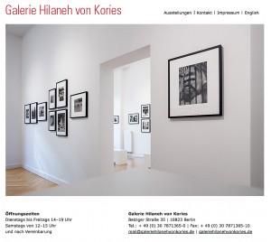 Galerie Hilaneh von Kories November 2015