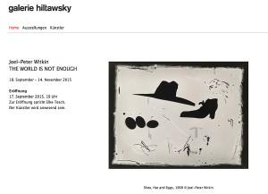 Galerie Hiltawsky November 2015