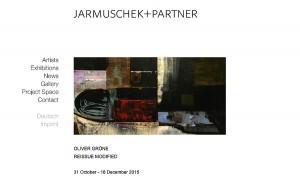 Galerie Jarmuschek + Partner - November 2015