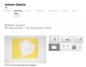Galerie Johnen - November 2015