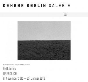 Galerie Kehrer - November 2015