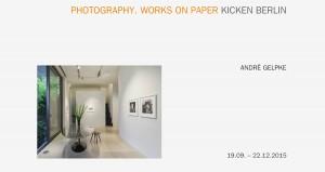Galerie Kicken - November 2015