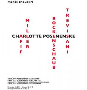 Galerie Mehdi Chouakri - November 2015