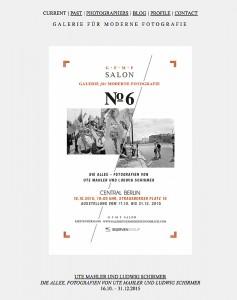 Galerie für Moderne Fotografie - November 2015