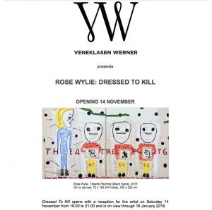 Galerie Veneklasen Werner - November 2015