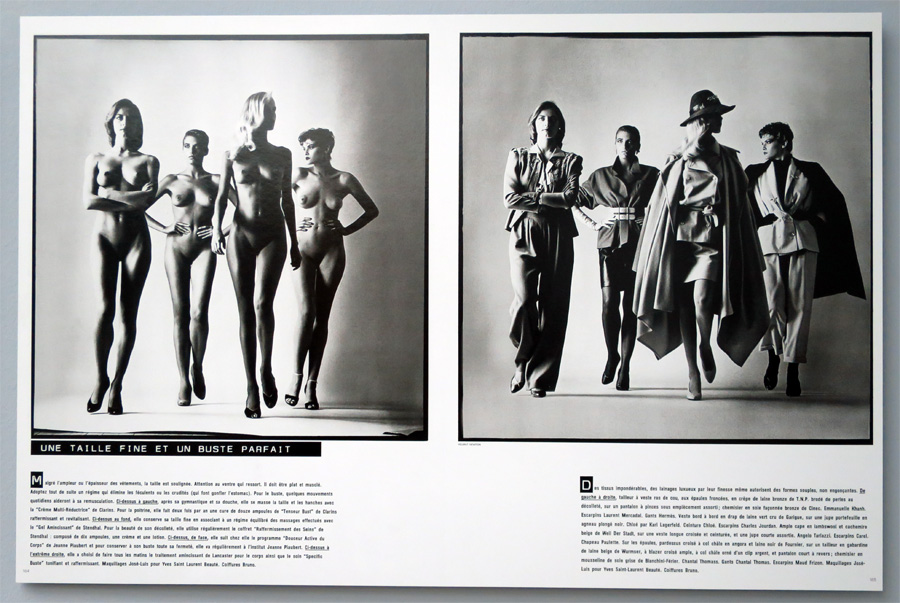 helmut newton pages from the glossies 7 900 kultur24 berlin. Black Bedroom Furniture Sets. Home Design Ideas