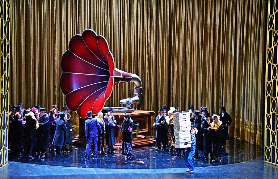 """""""My Fair Lady"""", Komische Oper Berlin 2015, © Holger Jacobs"""