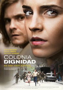 "Daniel Brühl und Emma Watson, ""Colonia Dignidad"" © Majestic Filmverleih"