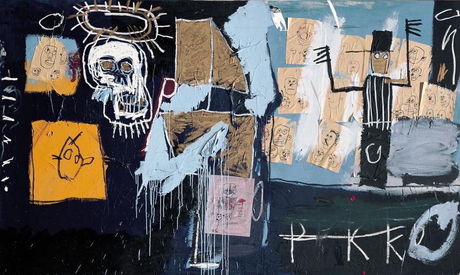 """Jean-Michel Basquiat, """"Slave Auction"""", 1982, © Centre Pompidou"""