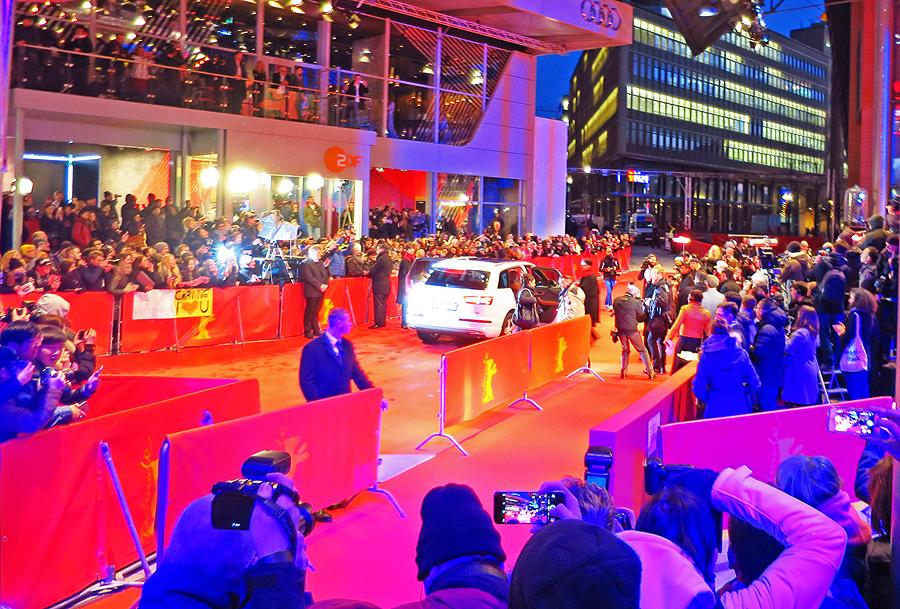 Red Carpet - Berlinale 2016 © Holger Jacobs
