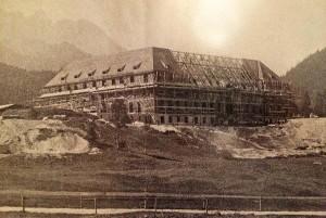 Bau Schloss Elmau 1915 © Schloss Elmau