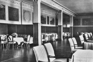 Der Teesaal von Schloss Elmau © Schloss Elmau