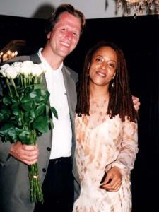 Dietmar Müller-Elmau mit Jazz Sängerin Cassandra Wilson, Jazz-Classica Festival 1998 © Holger Jacobs