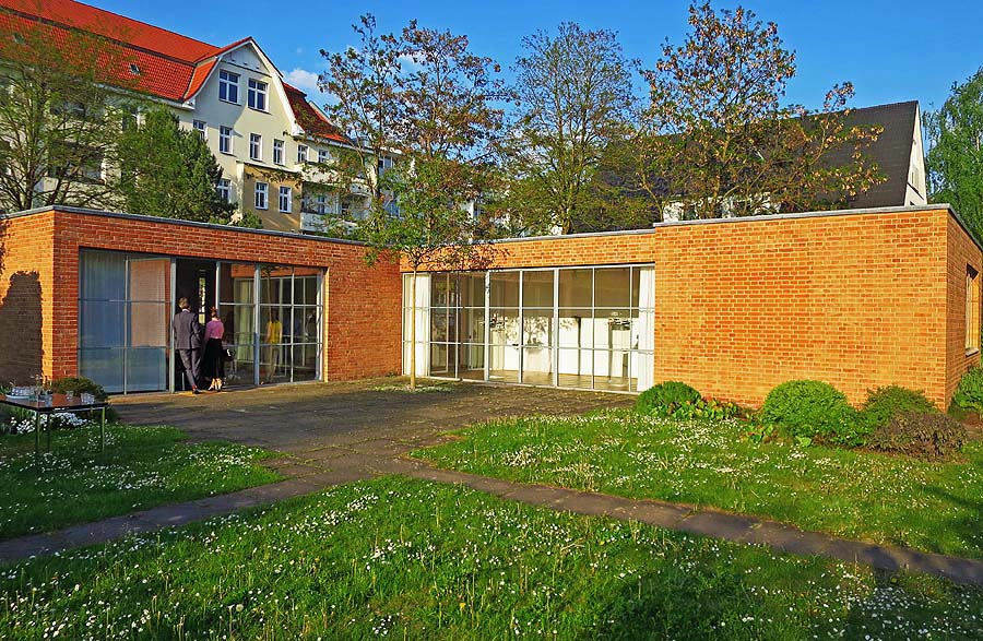 Mies Van Der Rohe Haus Berlin Weissensee Kultur24 Berlin