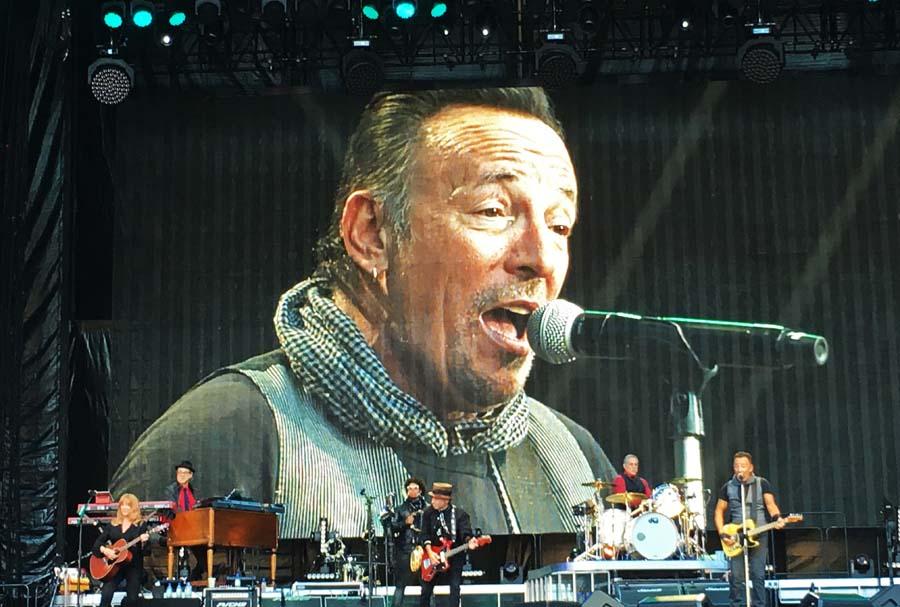 Bruce Springsteen, Olympiastadion Berlin, 19.06.2016 © Markus Hage