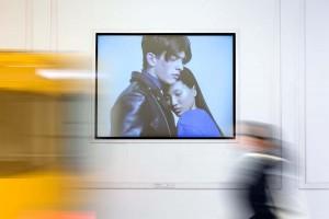 U-Bahnhof Friedrichstrasse mit European Fashion Film Award © European Fashion Film Award