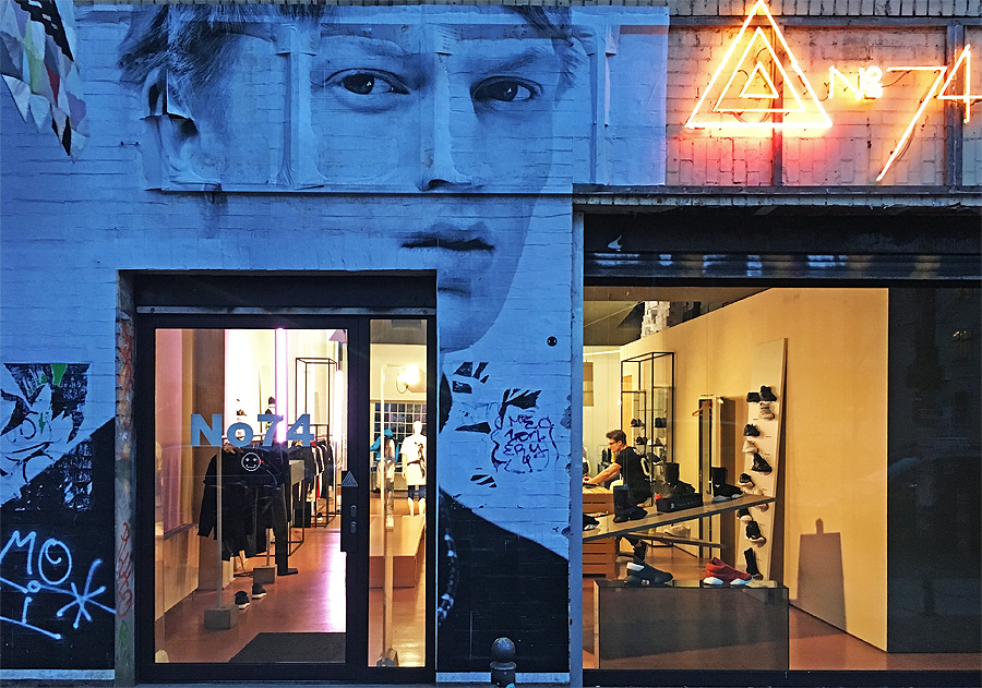 No74 Store Berlin © Holger Jacobs