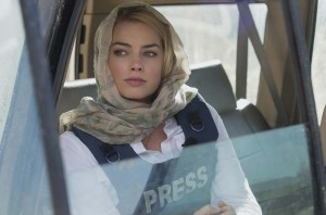 Margot Robbie plays Tanya Vanderpoel in Whiskey Tango Foxtrot from Paramount Pictures and Broadway Video/Little Stranger Productions in theatres March 4, 2016.