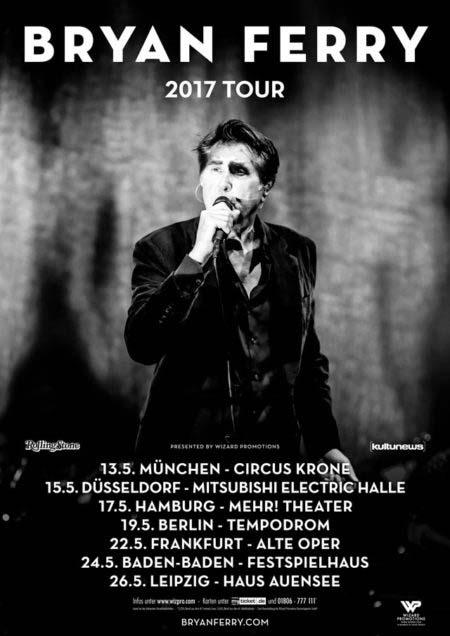 Bryan Ferry Tour 2017