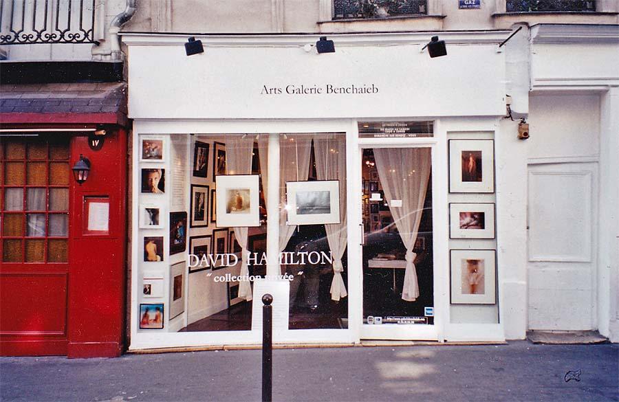 Ausstellung in der Arts Galerie Benchaieb, 64, rue Mazarine, Paris 6-ième, 2004, Foto: Holger Jacobs