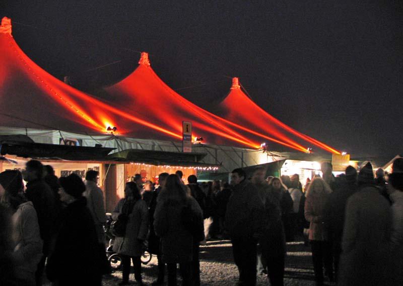 Tollwood Winterfestival, Foto: Patrick Huebgen