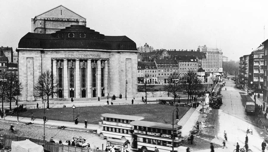 Die Volksbühne in den 30er-Jahren © Volksbühne