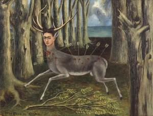 """Frida Kahlo """"Kleiner Hirsch"""", 1946, courtesy Banco de Mexico"""
