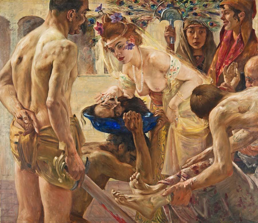 "Lovis Corinth, ""Salome"", 1899, Foto: Michael Ehritt"
