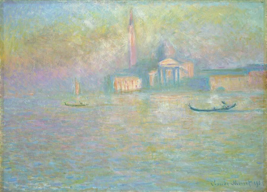 "Claude Monet ""San Giorgio"", 1908, courtesy Bucerius Forum"