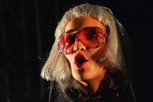 """Lola Fuchs als Lucile Desmoulins, """"Dantons Tod"""", Schaubühne Berlin, Foto: Holger Jacobs"""
